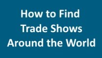 Find Trade Shows Worldwide
