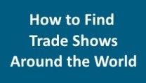 Find Trade Shows Worldwide