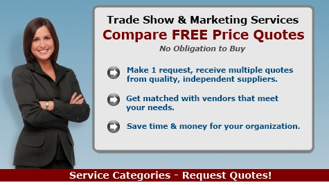 trade show marketing services