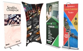 trade show banner stand
