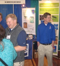 trade show convention display staff