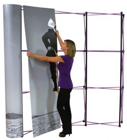fabric display panels
