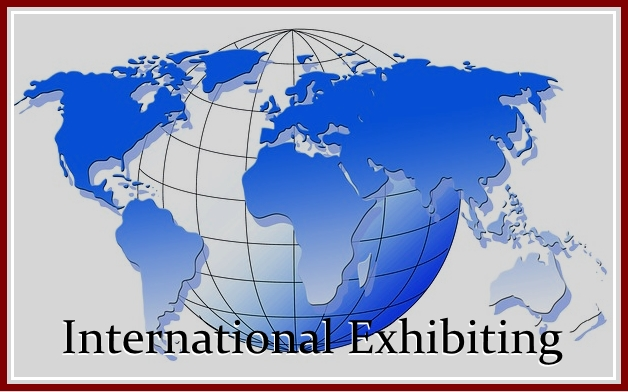 exhibiting in another country