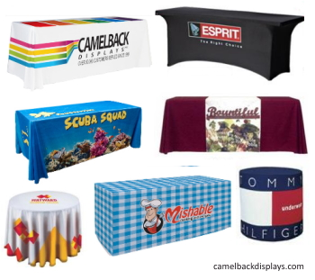 trade show table cloths